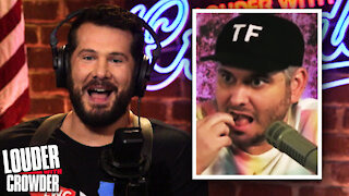 The Greatest SELF OWN: H3H3 REKTS Himself...BRAGS About It! | Louder with Crowder