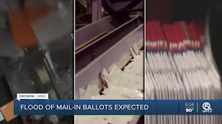 Postal union president confident mail-in ballots will be delivered on time