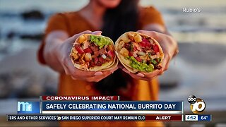 Safely celebrating National Burrito Day