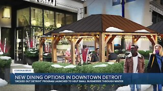 'Decked out Detroit' program launched to help small businesses through winter