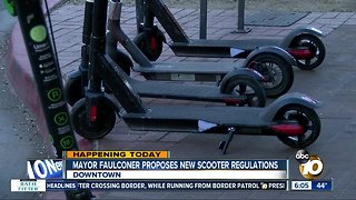 Council committee to consider Mayor Faulconer's scooter proposal
