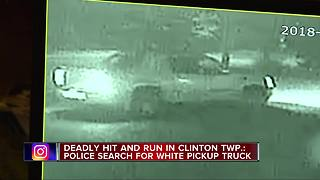 Police investigating fatal hit-and-run crash in Clinton Township
