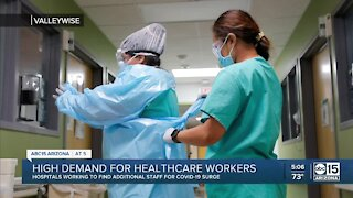 Nurses and traveling nurses are in high demand at hospitals