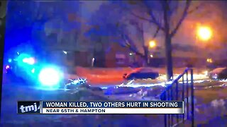 Woman killed in triple shooting, others injured