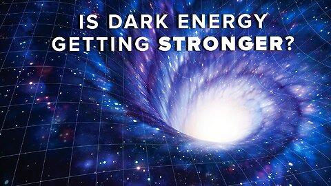 Is dark energy getting stronger?