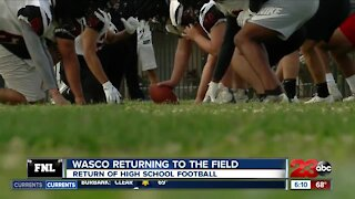23ABC Sports: Live preview of Garces Memorial and Wasco football kicking off their seasons more than a year off the fields