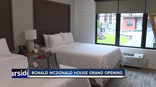 Ronald McDonald House grand opening
