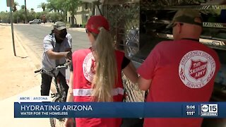 Salvation Army drives mobile hydration unit throughout the Valley