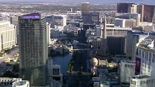 Las Vegas strip casinos 'win' in January, remain down from 2020
