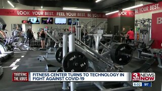 Fitness center turns to technology in fight against COVID-19