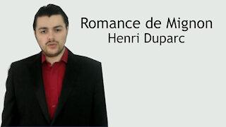 Romance de Mignon - Henri Duparc