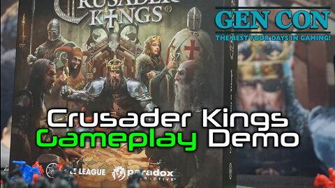Crusader Kings Gameplay Demo | Gen Con 2019