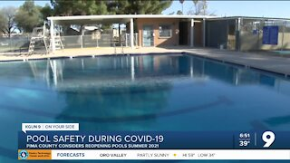 Pima County considers reopening pools for Summer 2021