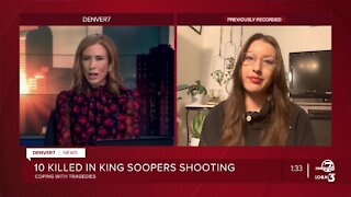 Discussing mental health after mass shootings