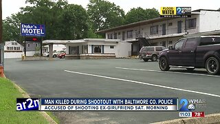 Man killed during shootout with Baltimore County Police