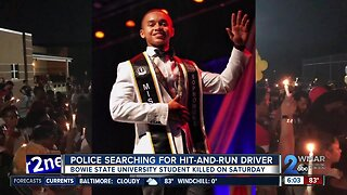 Police searching for driver that hit and killed Bowie State student