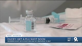 Ducey pushes flu vaccine amid COVID-19 pandemic