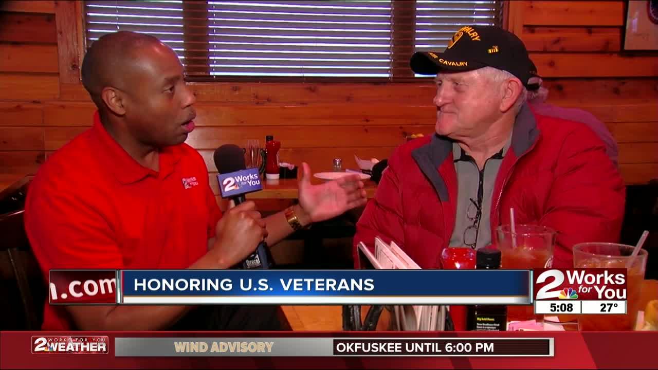 Restaurants honoring US veterans