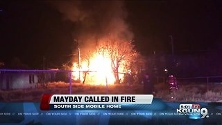 Southside Mobile Home Fire
