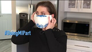 How to make a CDC-recommended cloth face mask without a sewing machine or scissors