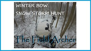BOWHUNTING: Winter Storm Bow Hunt