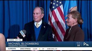 Michael Bloomberg Visits OKC