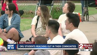 ORU students reaching out in their communities