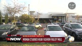 Woman stabbed near Fashion Valley mall