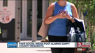 False social media post gains traction, alarms residents