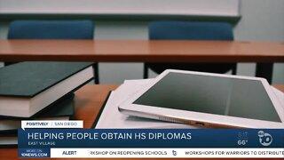 Free program helping people obtain their high school diploma