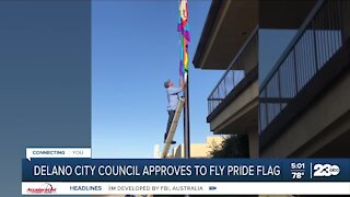 Delano City Council approves pride flag to fly at Delano City Hall