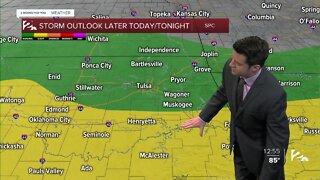 Thursday Noon Weathercast