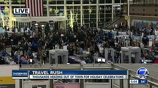 Denver International Airport expected to break holiday travel records this week