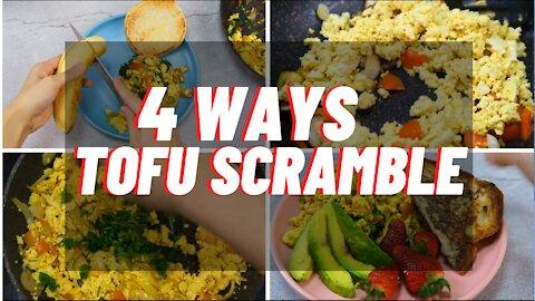 Tofu Scramble | Vegan Tofu Scramble | Tofu Recipes | Vegan Recipes | Vegan Breakfast Recipes