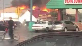 Massive fire breaks out at Phoenix Safeway store