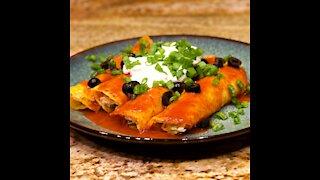 Keto Chicken Enchiladas Recipe