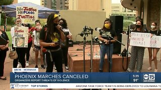 Phoenix marches canceled due to threats