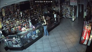 Woman burglarizes family-owned business
