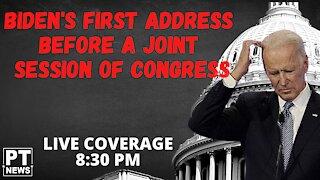 Biden Addresses Joint Session of Congress