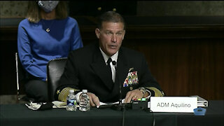 Senate Committee Considers Aquilino for Indo-Pacom Leader, Part 1