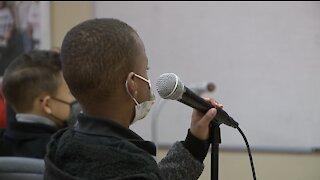 Students run radio program to combat bullying