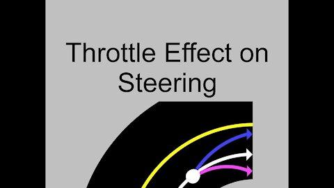 Throttle Effect on Motorcycle Steering