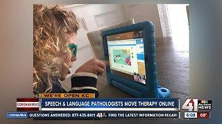 Speech & language pathologists move therapy online