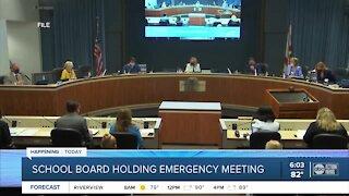 Hillsborough holding emergency school board meeting Friday