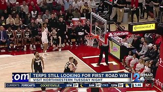 Terps looking for first road win