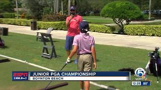 Junior Golfers Show Off Their Game