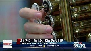 Southern Arizona band teacher turns to Youtube to help students