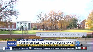 Johns Hopkins Police Force moving closer to a vote