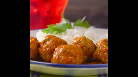Meatballs in Caldillo de Chipotle