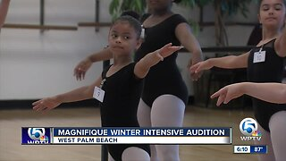 Magnifique Winter Intensive Audition held in West Palm Beach